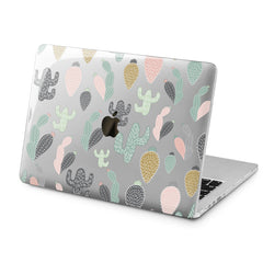 Lex Altern Pastel Cactus Case for your Laptop Apple Macbook.