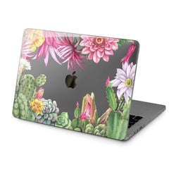 Lex Altern Hard Plastic MacBook Case Cactus Plants