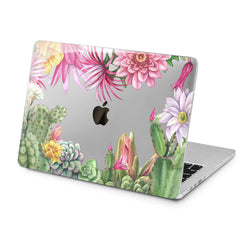 Lex Altern Cactus Plants Case for your Laptop Apple Macbook.