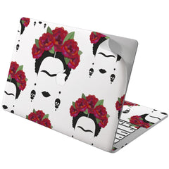 Lex Altern Vinyl MacBook Skin Frida Kahlo