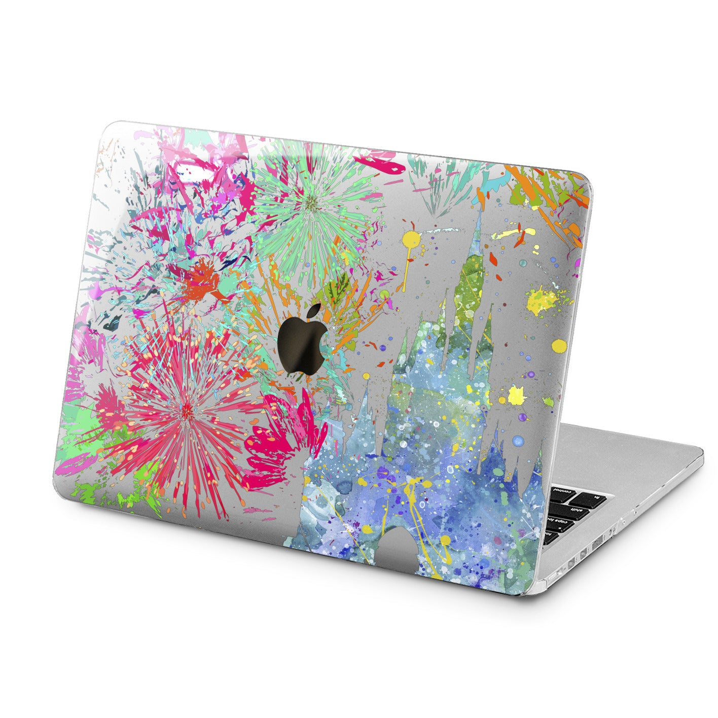 Lex Altern Colorful Castle  Case for your Laptop Apple Macbook.
