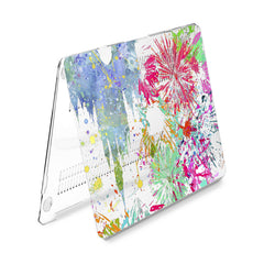 Lex Altern Hard Plastic MacBook Case Colorful Castle