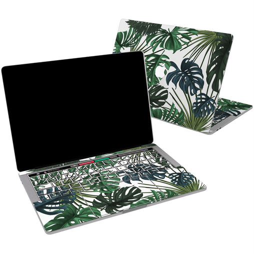 Lex Altern Vinyl MacBook Skin Monstera Pattern for your Laptop Apple Macbook.