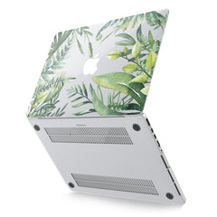 Lex Altern Hard Plastic MacBook Case Greenery Design