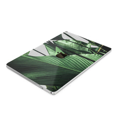 Lex Altern Hard Plastic MacBook Case Green Leaves Art