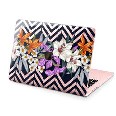 Lex Altern Hard Plastic MacBook Case Lily Flowers
