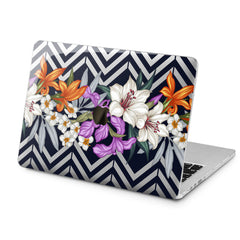 Lex Altern Lily Flowers Case for your Laptop Apple Macbook.