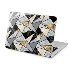 Lex Altern Triangle Pattern Art Case for your Laptop Apple Macbook.