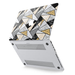 Lex Altern Hard Plastic MacBook Case Triangle Pattern Art