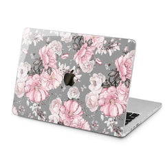 Lex Altern Pink Roses Print Case for your Laptop Apple Macbook.
