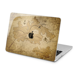 Lex Altern Treasure Map Case for your Laptop Apple Macbook.