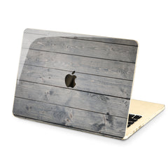 Lex Altern Hard Plastic MacBook Case Old Planks Style