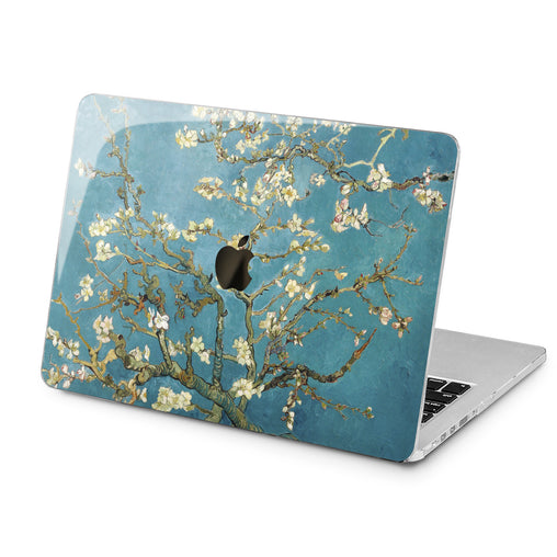 Lex Altern Almond Tree Blossom  Case for your Laptop Apple Macbook.