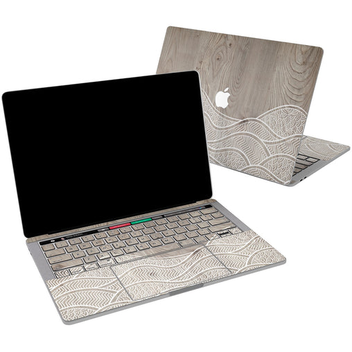 Lex Altern Vinyl MacBook Skin Abstract Waves for your Laptop Apple Macbook.