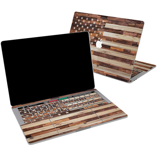 Lex Altern Vinyl MacBook Skin American Flag for your Laptop Apple Macbook.