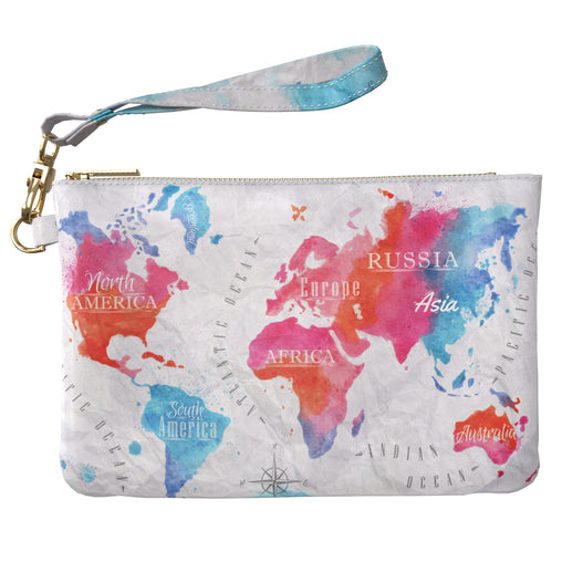 Lex Altern Makeup Bag Travelling Map