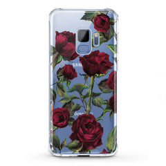 Lex Altern TPU Silicone Samsung Galaxy Case Red Roses