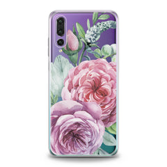 Lex Altern Pink Roses Art Huawei Honor Case