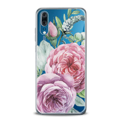 Lex Altern TPU Silicone Huawei Honor Case Pink Roses Art