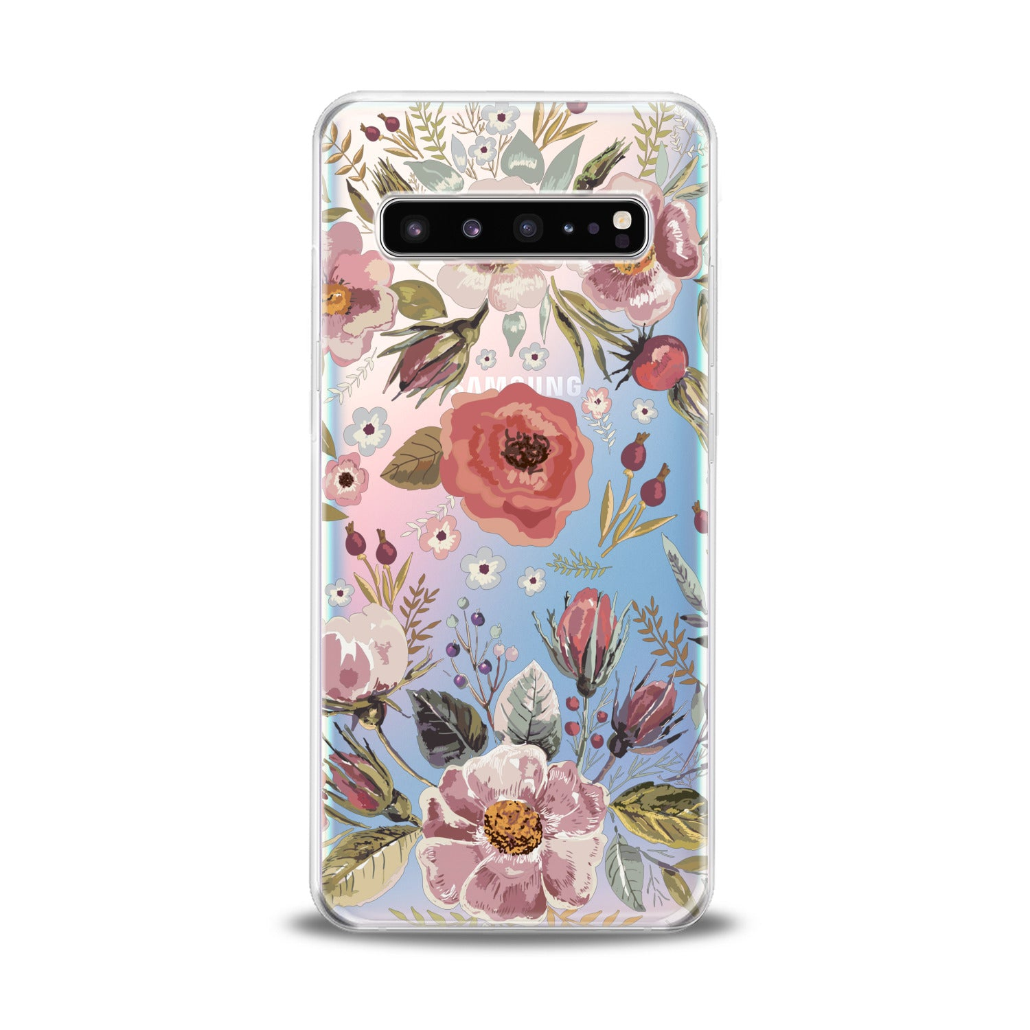Lex Altern Wildflower Pattern Samsung Galaxy Case