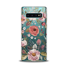 Lex Altern TPU Silicone Samsung Galaxy Case Wildflower Pattern