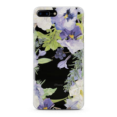 Lex Altern Pansies Flowers Phone Case for your iPhone & Android phone.