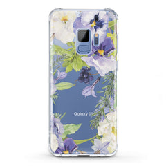 Lex Altern TPU Silicone Phone Case Pansies Flowers