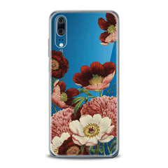 Lex Altern TPU Silicone Huawei Honor Case Red Flowers Print