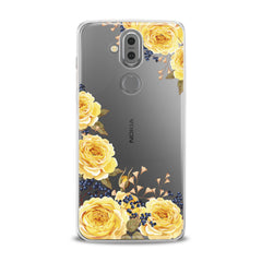 Lex Altern TPU Silicone Phone Case Yellow Roses