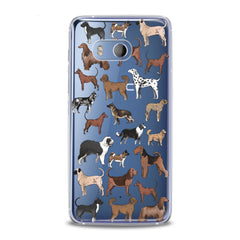 Lex Altern TPU Silicone HTC Case Dog Pattern