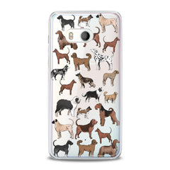 Lex Altern Dog Pattern HTC Case