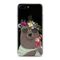 Lex Altern TPU Silicone Phone Case Summer Bear