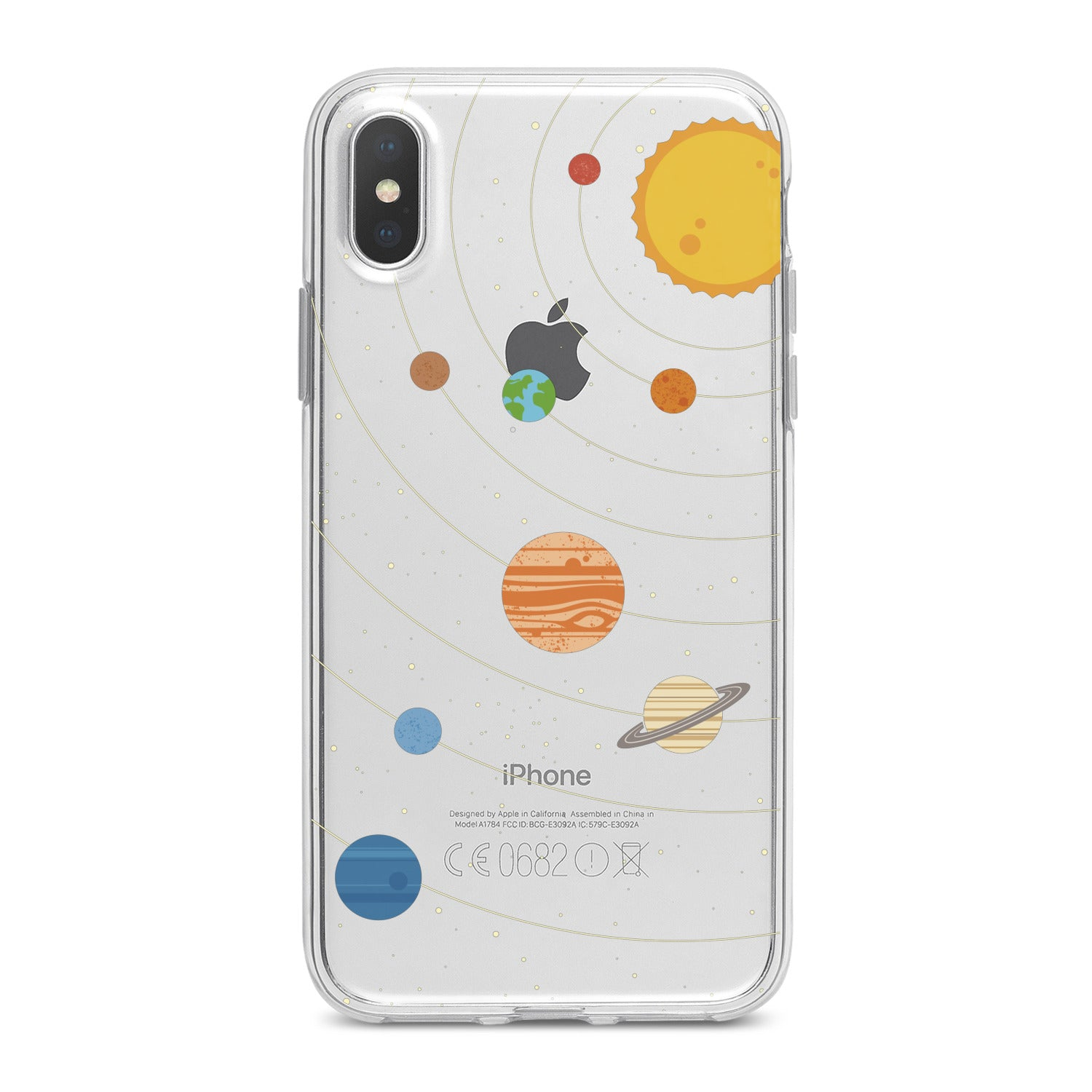 Lex Altern Cute Planets Phone Case for your iPhone & Android phone.