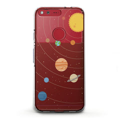 Lex Altern TPU Silicone Phone Case Cute Planets