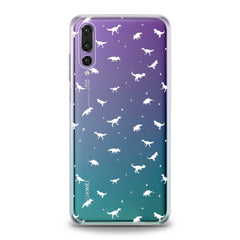 Lex Altern TPU Silicone Huawei Honor Case Tiny Dinosaurs
