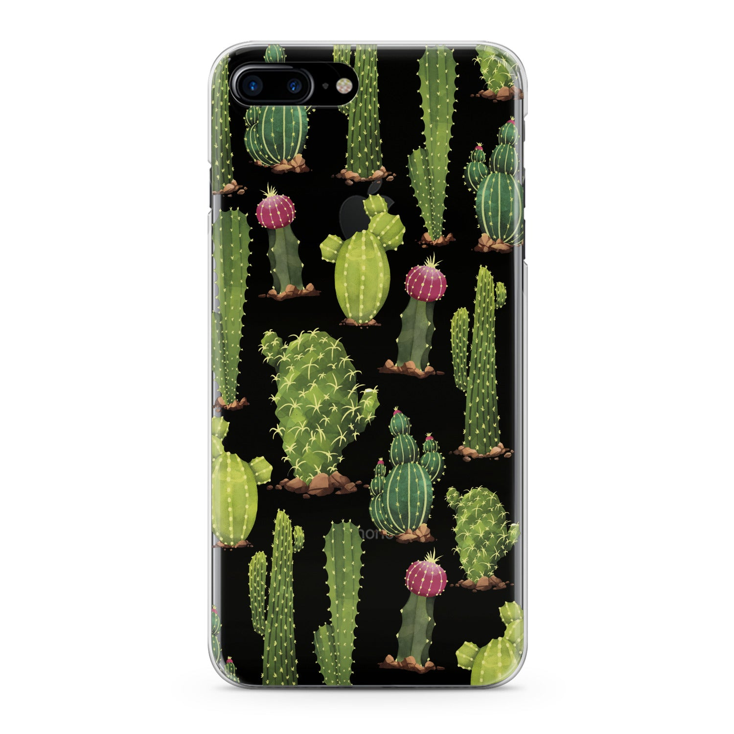 Lex Altern Cactus Pattern Phone Case for your iPhone & Android phone.
