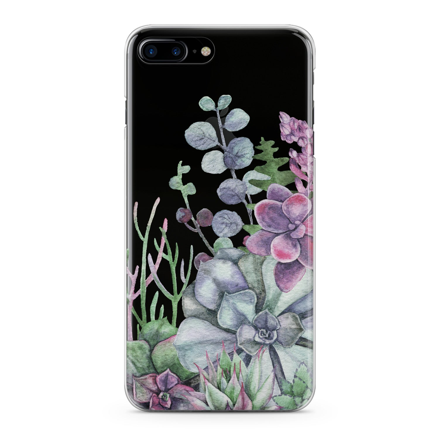 Lex Altern Flowers Succulent Phone Case for your iPhone & Android phone.