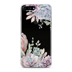 Lex Altern Pink Succulent Phone Case for your iPhone & Android phone.