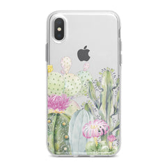 Lex Altern TPU Silicone Phone Case Cactus Watercolor Art
