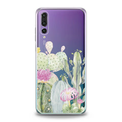 Lex Altern TPU Silicone Huawei Honor Case Cactus Watercolor Art