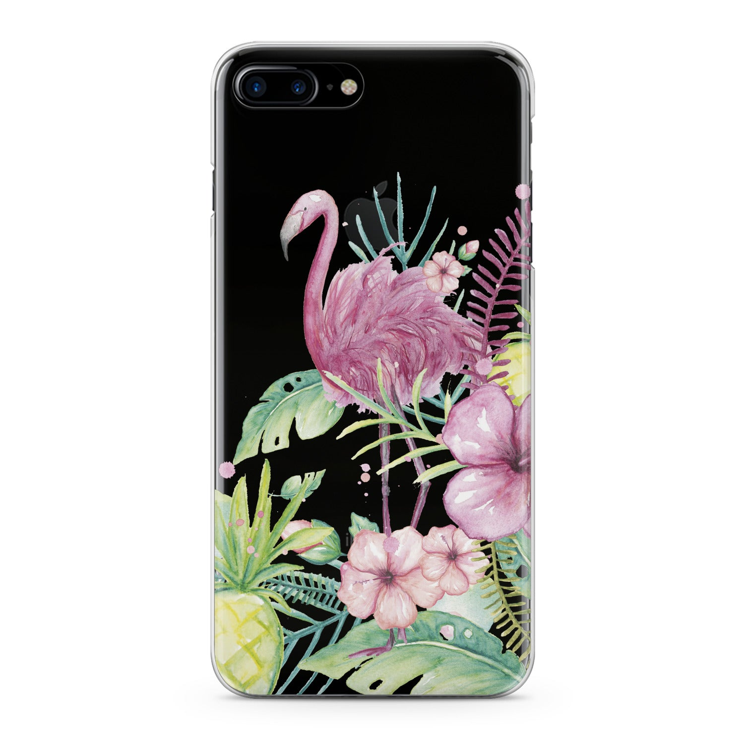 Lex Altern Flamingo Tropical Phone Case for your iPhone & Android phone.