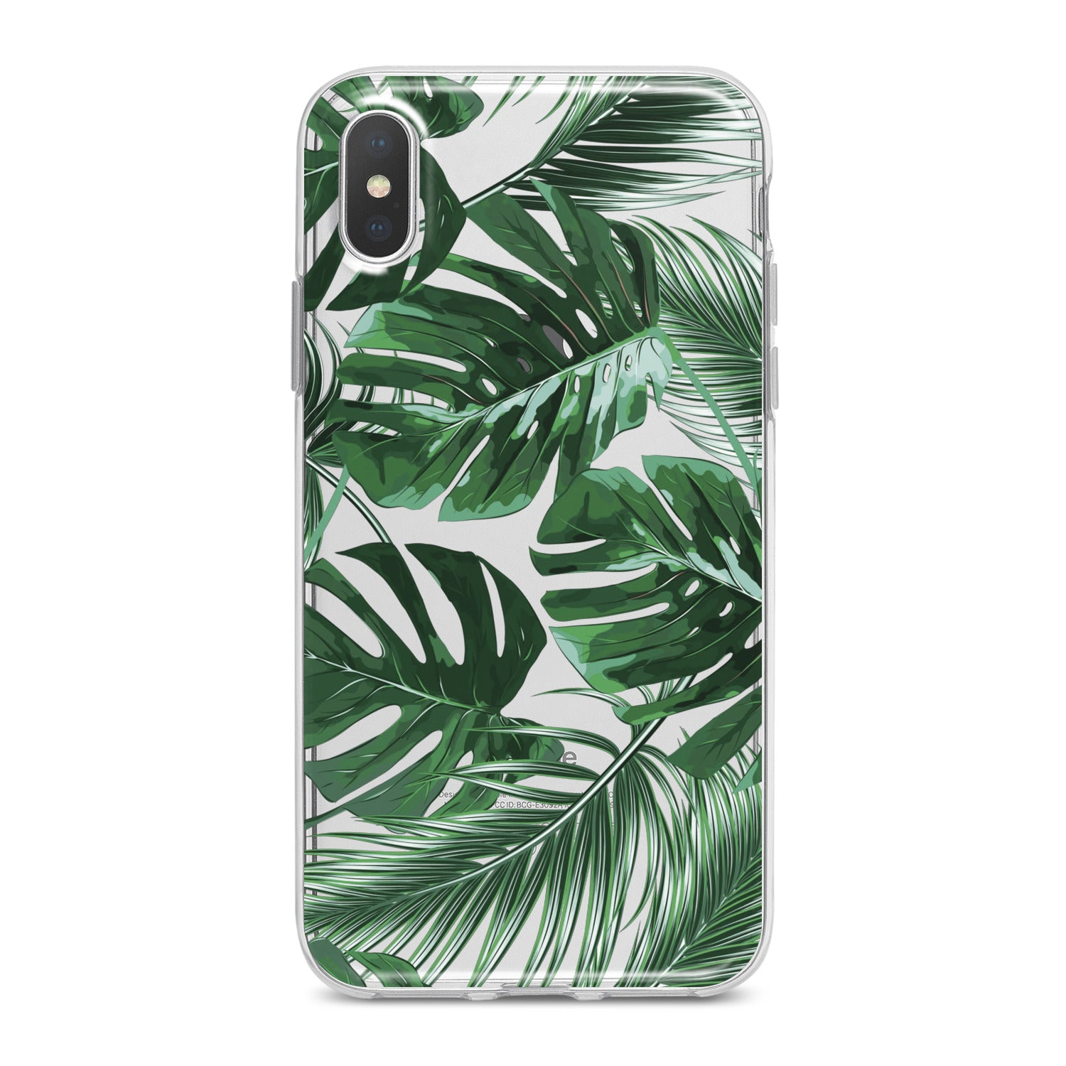 Lex Altern Monstera Leaves Phone Case for your iPhone & Android phone.
