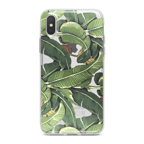 Lex Altern Banana Leaves Phone Case for your iPhone & Android phone.