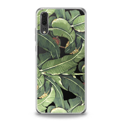 Lex Altern TPU Silicone Huawei Honor Case Banana Leaves