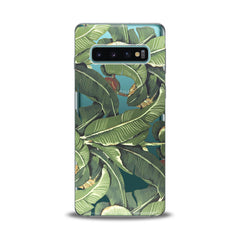 Lex Altern TPU Silicone Samsung Galaxy Case Banana Leaves