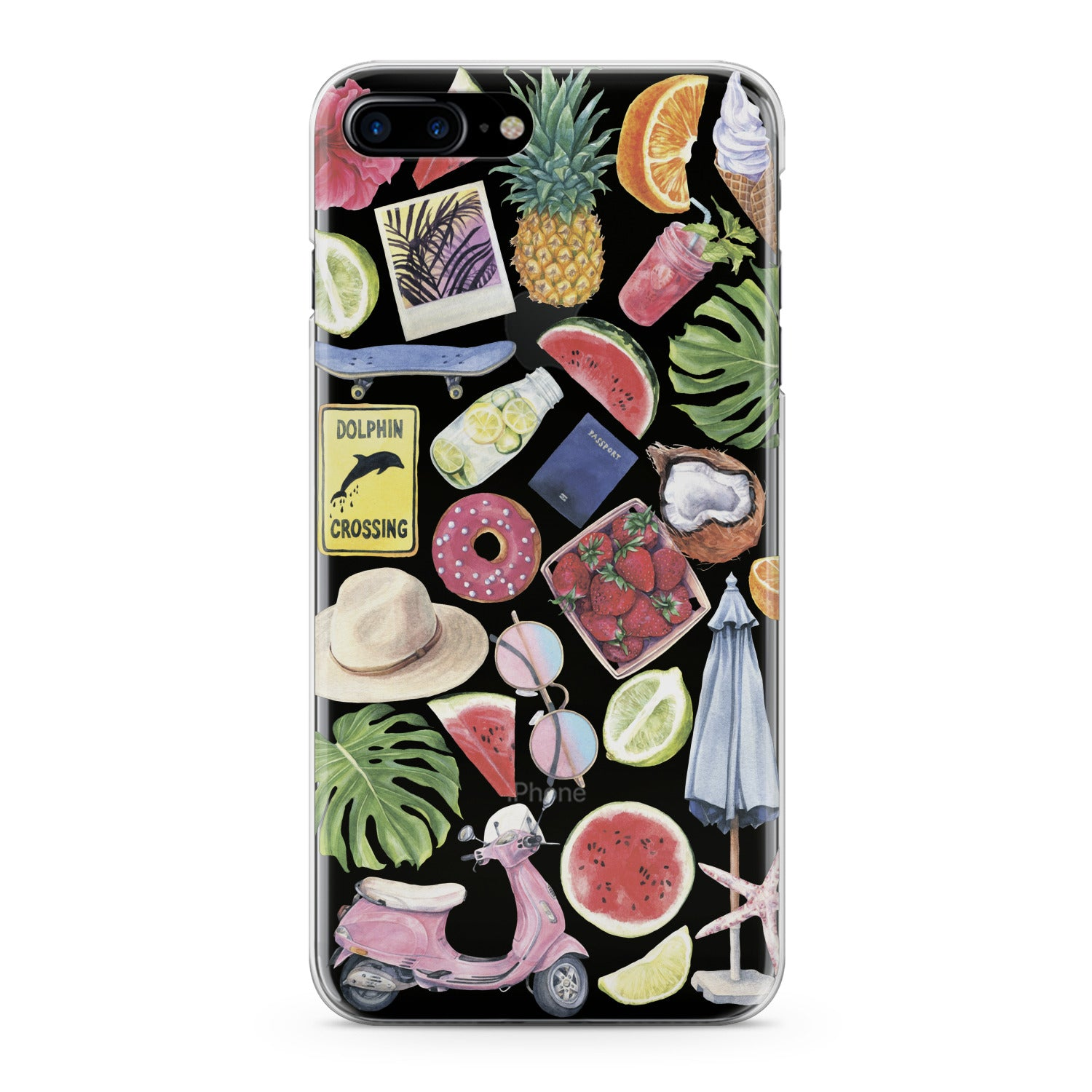 Lex Altern Summer Fruits Phone Case for your iPhone & Android phone.