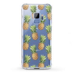Lex Altern TPU Silicone Samsung Galaxy Case Pineapple Pattern