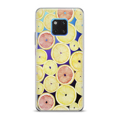 Lex Altern TPU Silicone Huawei Honor Case Yellow Lemon