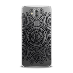 Lex Altern TPU Silicone Phone Case Black Mandala