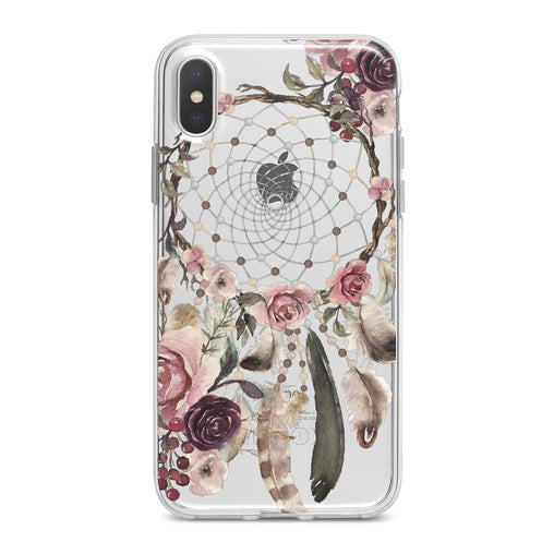 Lex Altern Floral Dreamcatcher Art Phone Case for your iPhone & Android phone.